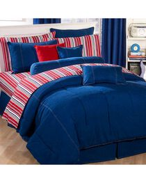 Karin Maki Denim Queen Comforter, , hi-res
