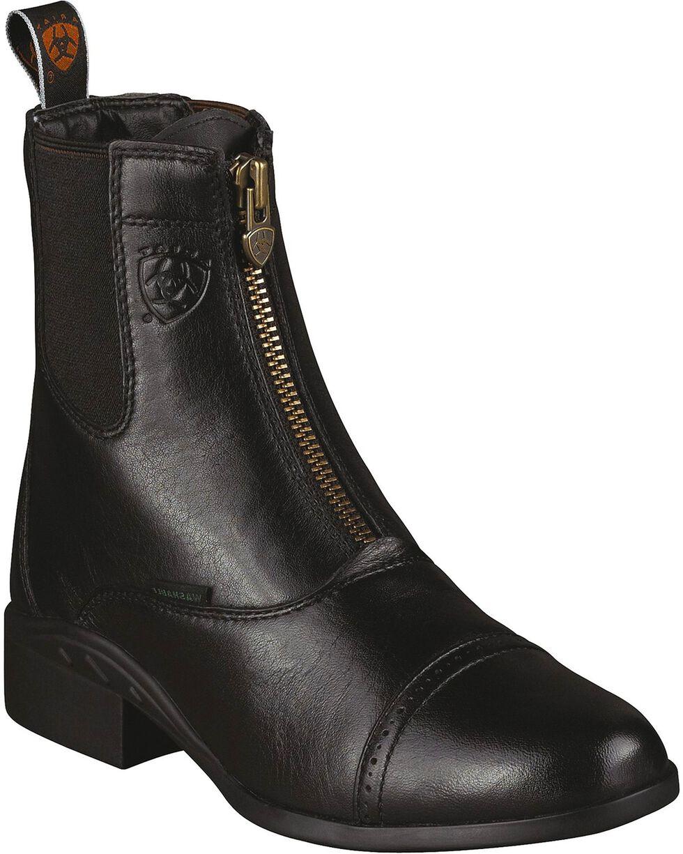Ariat Women's Heritage Breeze Paddock Boots, Black, hi-res