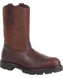 Georgia Men's Homeland Waterproof Wellington Boots, , hi-res