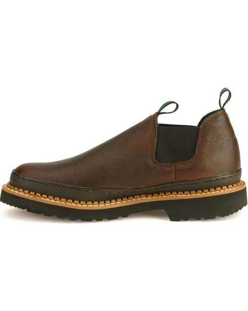 Georgia Men's Georgia Giant Work Shoes, Dark Brown, hi-res