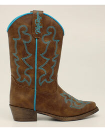 Blazin Roxx Girls' Caroline Cowgirl Boots - Snip Toe, , hi-res