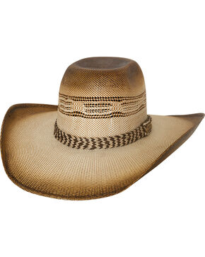 Bullhide Men's Natural Rushmore Straw Hat , Natural, hi-res