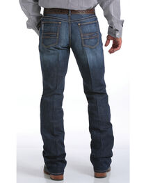 Cinch Men's Ian Dark Rinse Slim Fit Jeans - Boot Cut, , hi-res