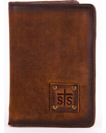 STS Ranchwear Brown Magnetic Wallet , , hi-res