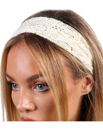 Shyanne® Women's Crochet Headband, , hi-res