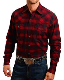 Stetson Men's Rugged Original Check Mate Flannel Shirt, , hi-res
