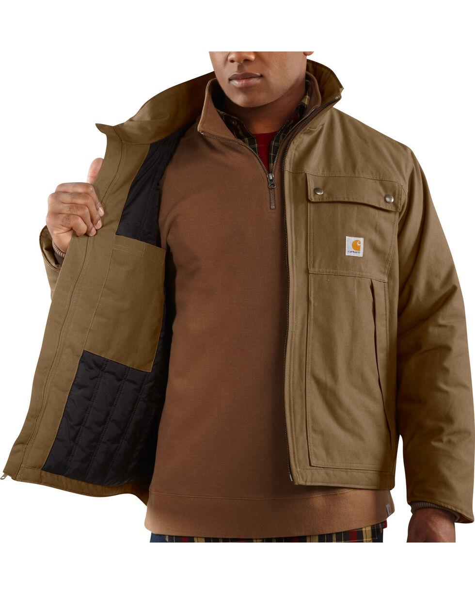 Carhartt Men's Jefferson Traditional Jacket, Brown, hi-res