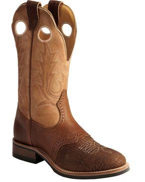 """Boulet Women's 12"""" Super Roper Vibram Sole Boots, Apache Tan, hi-res"""