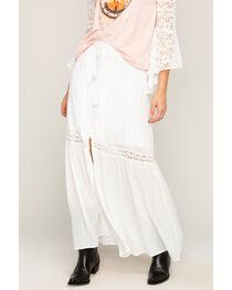 Shyanne® Women's Lace Button Down Skirt, , hi-res