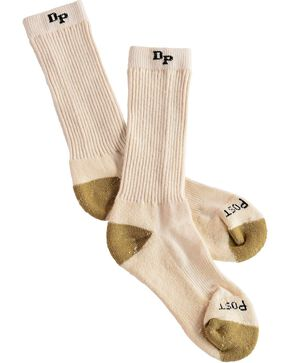 Dan Post Men's Work & Outdoor High Performance Socks, Natural, hi-res