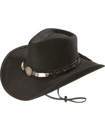 Bullhide Women's Skynard Shapeable Felt Cowgirl Hat, , hi-res