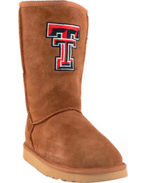 Gameday Boots Women's Texas Tech University Lambskin Boots, , hi-res