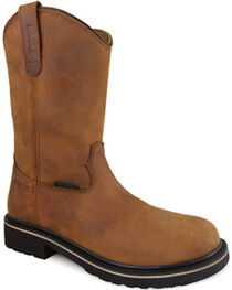 Smoky Mountain Men's Scottsdale Work Boots - Round Toe , , hi-res