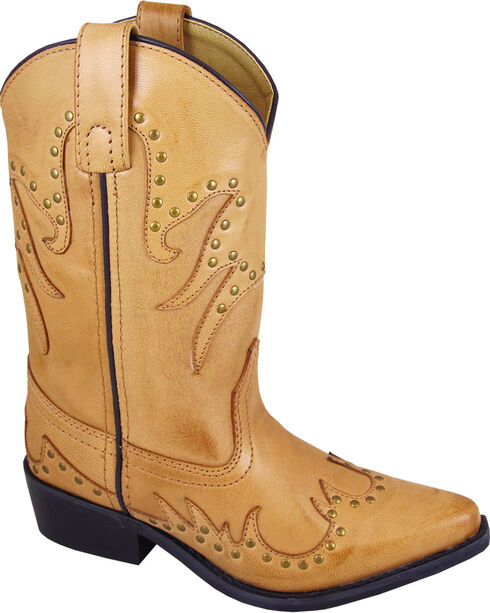 Smoky Mountain Girls' Dolly Western Boots - Snip Toe , , hi-res