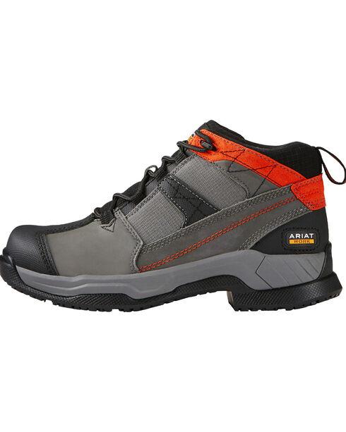 Ariat Women's Contender Steel Toe Work Shoes, Grey, hi-res