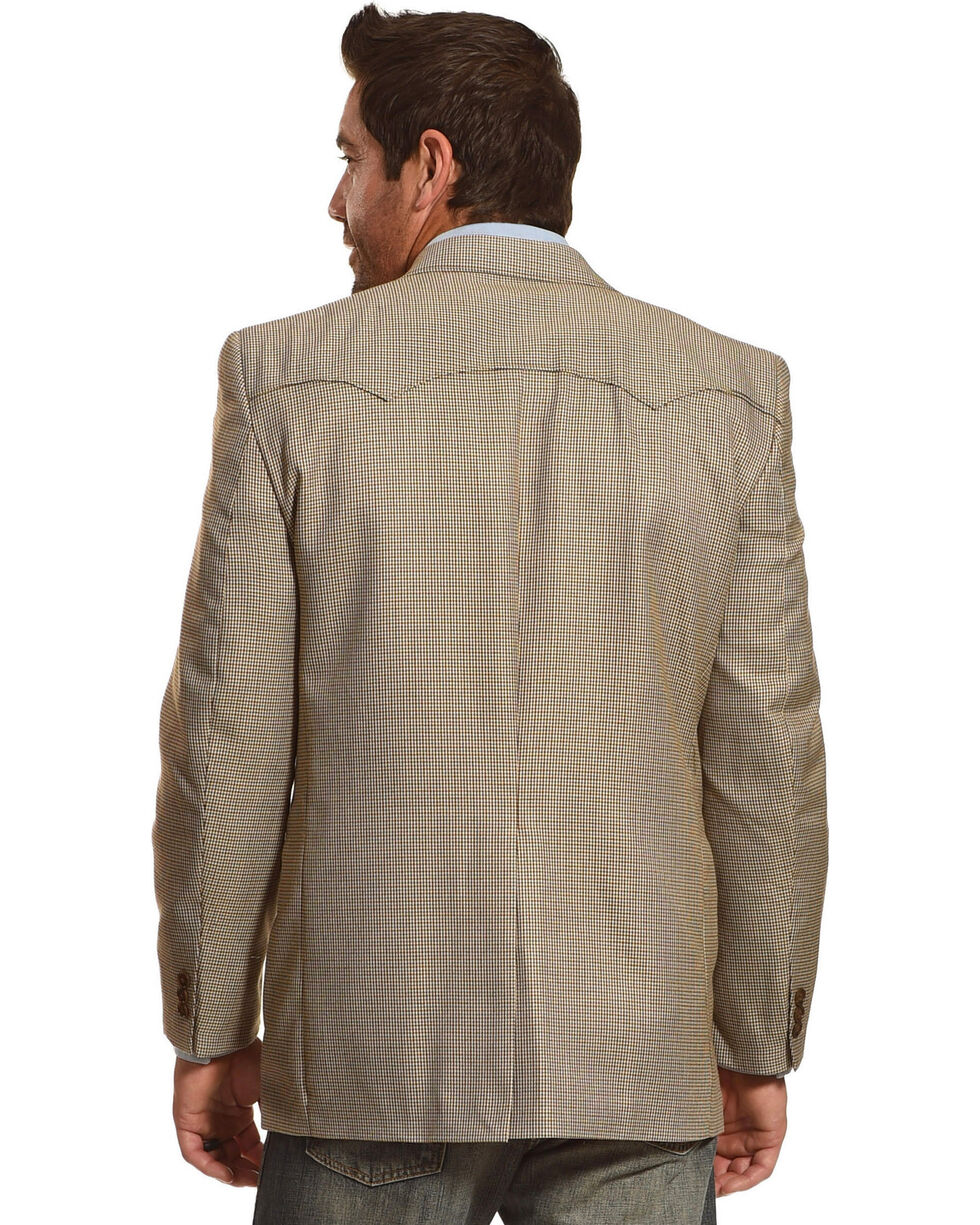 Circle S Men's Lubbock Sport Coat - Big & Tall, Brown, hi-res