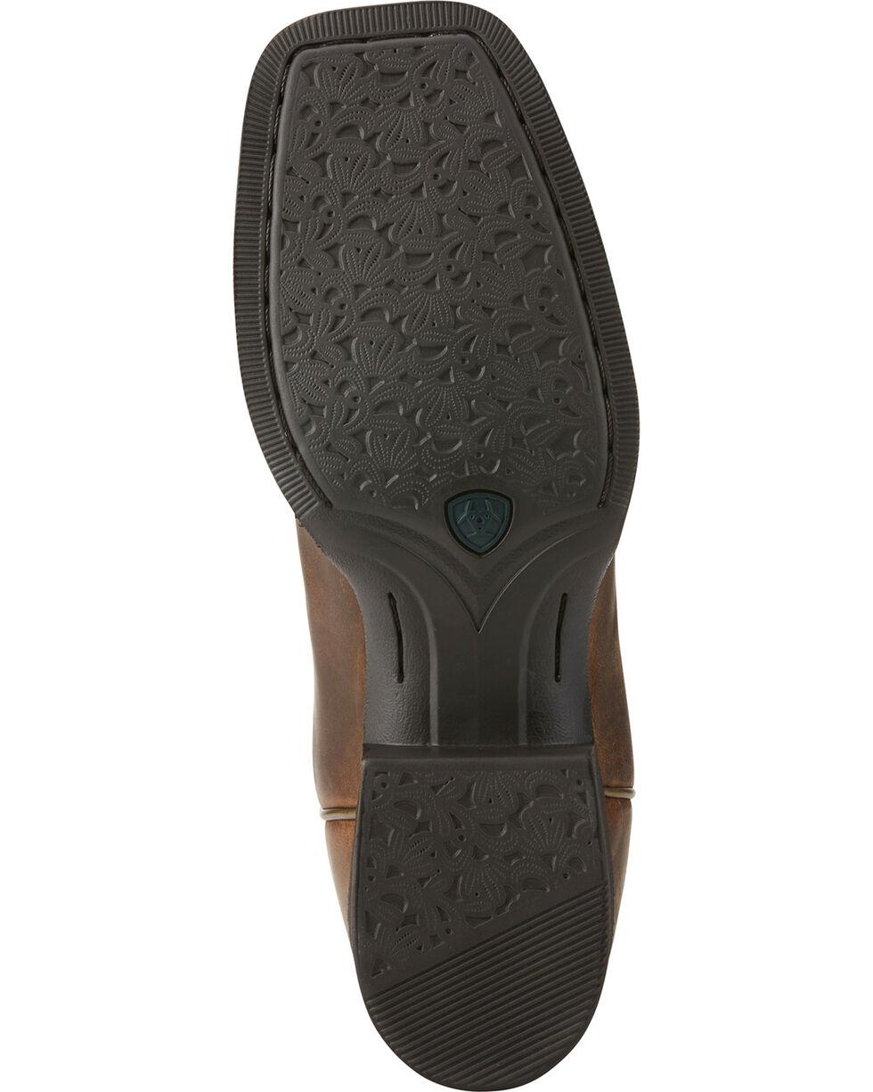 Ariat Women's Round Up Waylon Western Boots, Brown, hi-res