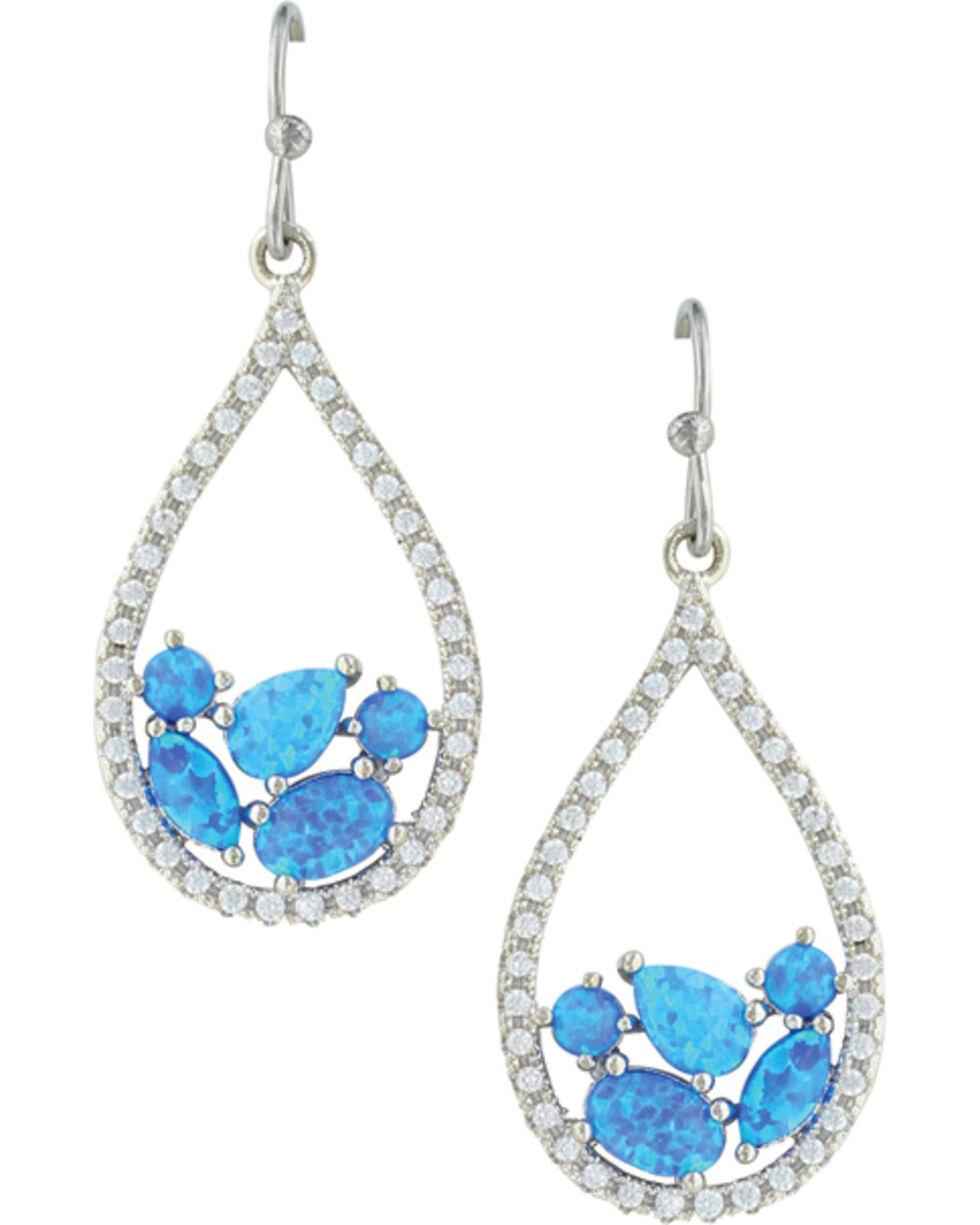 Montana Silversmiths Women's River of Lights Earrings, Silver, hi-res