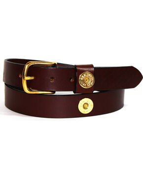 SouthLife Supple Men's Duke Total Shot Belt, Chocolate, hi-res