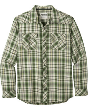 Mountain Khakis Men's Olive Plaid Rodeo Long Sleeve Shirt , Olive, hi-res