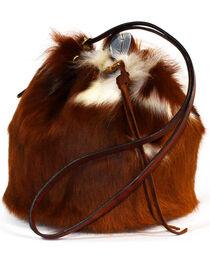 SouthLife Supply Women's Cowhide Drawstring Bucket Bag, , hi-res