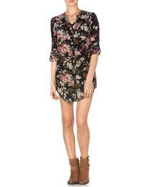 Miss Me Floral Front Dress, , hi-res
