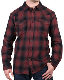 Cody James® Men's Washed Out Plaid Flannel, , hi-res