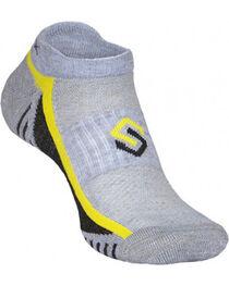 Scentlok Technologies Men's Grey Ultra Light Micro Socks, , hi-res
