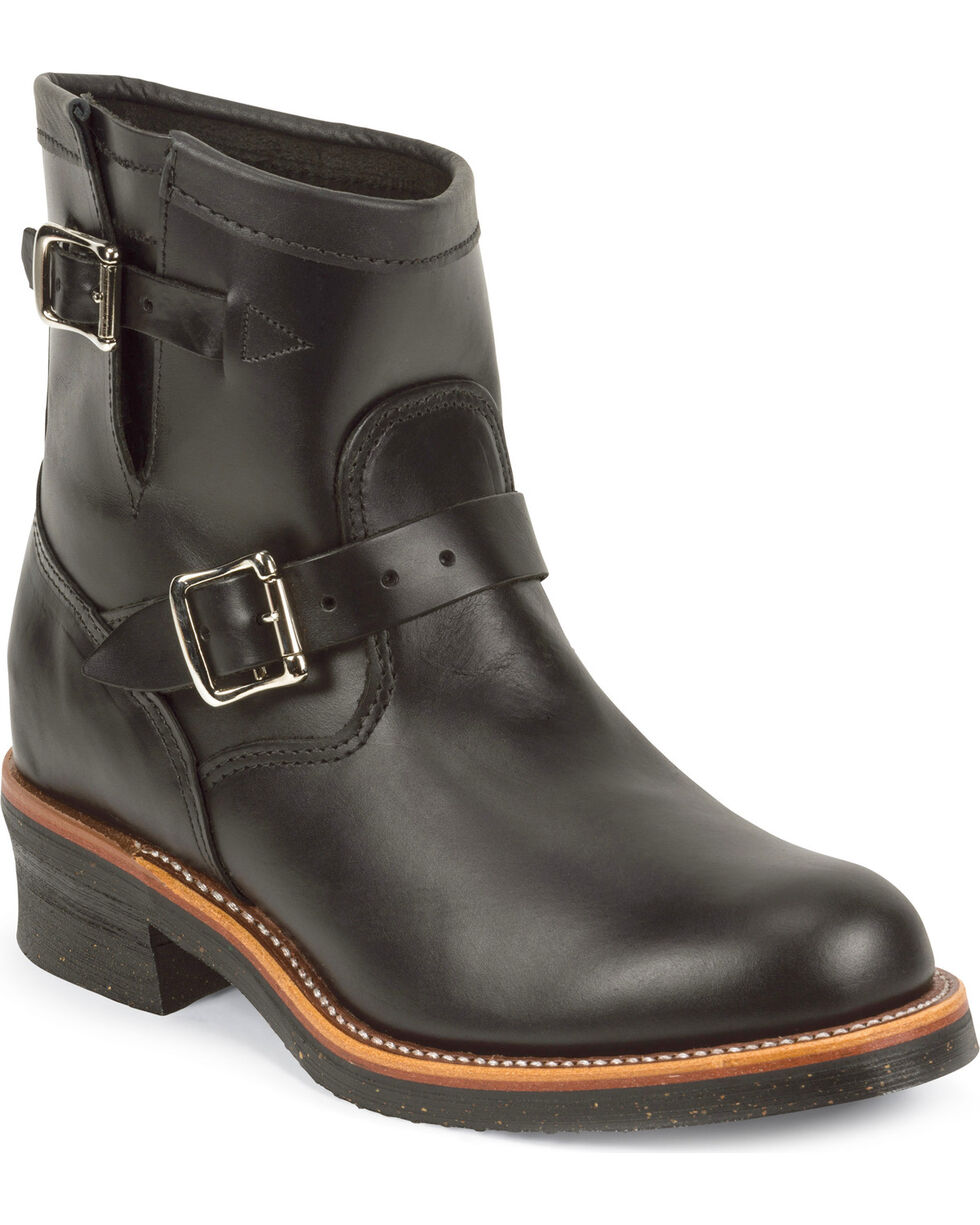 """Chippewa Men's Whirlwind  7"""" Engineer Boots, Black, hi-res"""