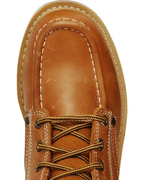 """Dickies Trader 6"""" Lace-Up Work Boots - Round Toe, Tan, hi-res"""