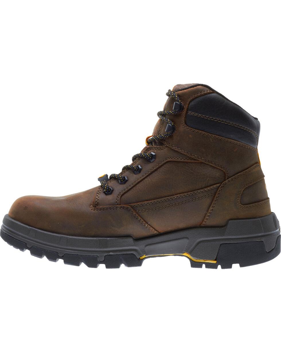 "Wolverine Men's Legend LX Durashocks 6"" Waterproof Work Boots - Composite Toe, Brown, hi-res"
