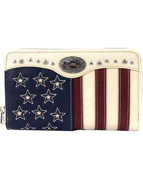Montana West Women's American Pride Wallet, Beige/khaki, hi-res