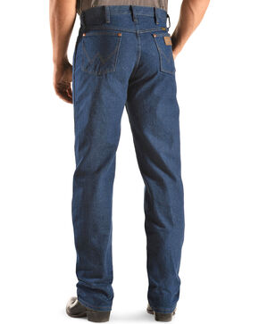 Wrangler Jeans - 13MWZ Original Fit Prewashed Denim, Indigo, hi-res