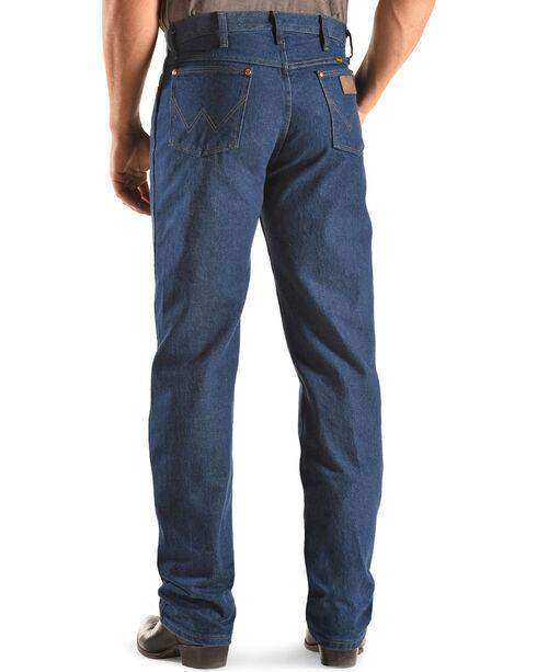 Wrangler Jeans - 13MWZ Original Fit Prewashed Denim, Indigo, hi-res