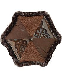 HiEnd Accents Rio Grande Hexagon Pillow, Multi, hi-res