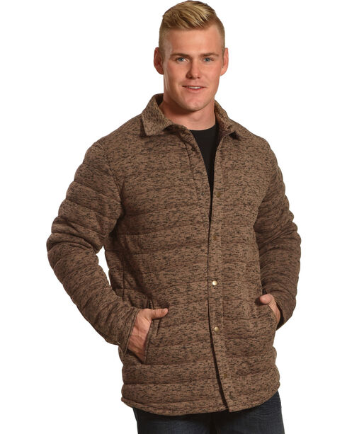 Cody James Men's Matterhorn Quilted Jacket - Big & Tall, Brown, hi-res
