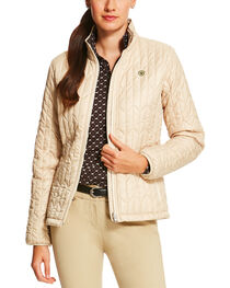 Ariat Women's Chevron Quilted Commuter Jacket, , hi-res