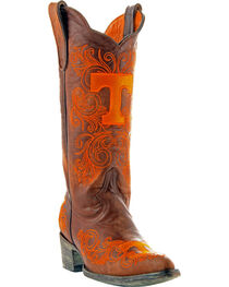 Gameday Boots Women's University of Tennessee Western Boots - Pointed Toe, , hi-res