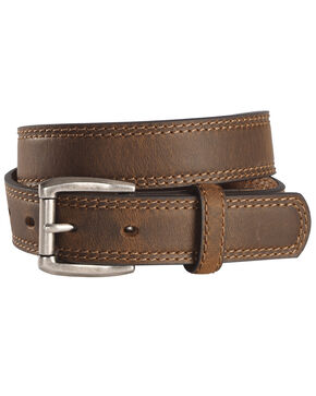 Cody James Boys' Roller Buckle Belt, Brown, hi-res