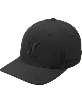 Hurley Men's Phantom Boardwalk Ball Cap, Black, hi-res