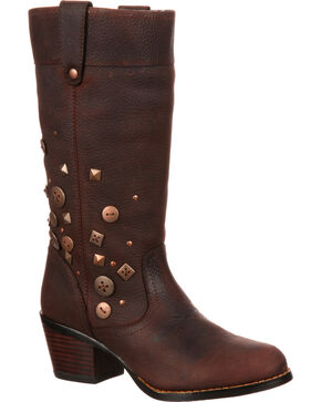 Durango Men's Rebel Western Boots, Chocolate, hi-res