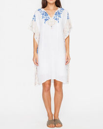 3J Workshop by Johnny Was Women's White Theda Effortless Kaftan, , hi-res
