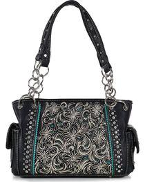 Shyanne® Women's Floral Concealed Weapon Handbag, , hi-res