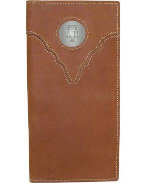 Texas A&M Logo Concho Checkbook, Crazyhorse, hi-res