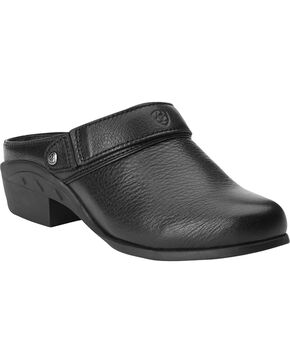 Ariat Women's Sport Mules, Black, hi-res