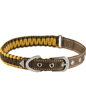 "Browning Brown Survival Cord Collar - Medium 14 - 20"", Brown, hi-res"