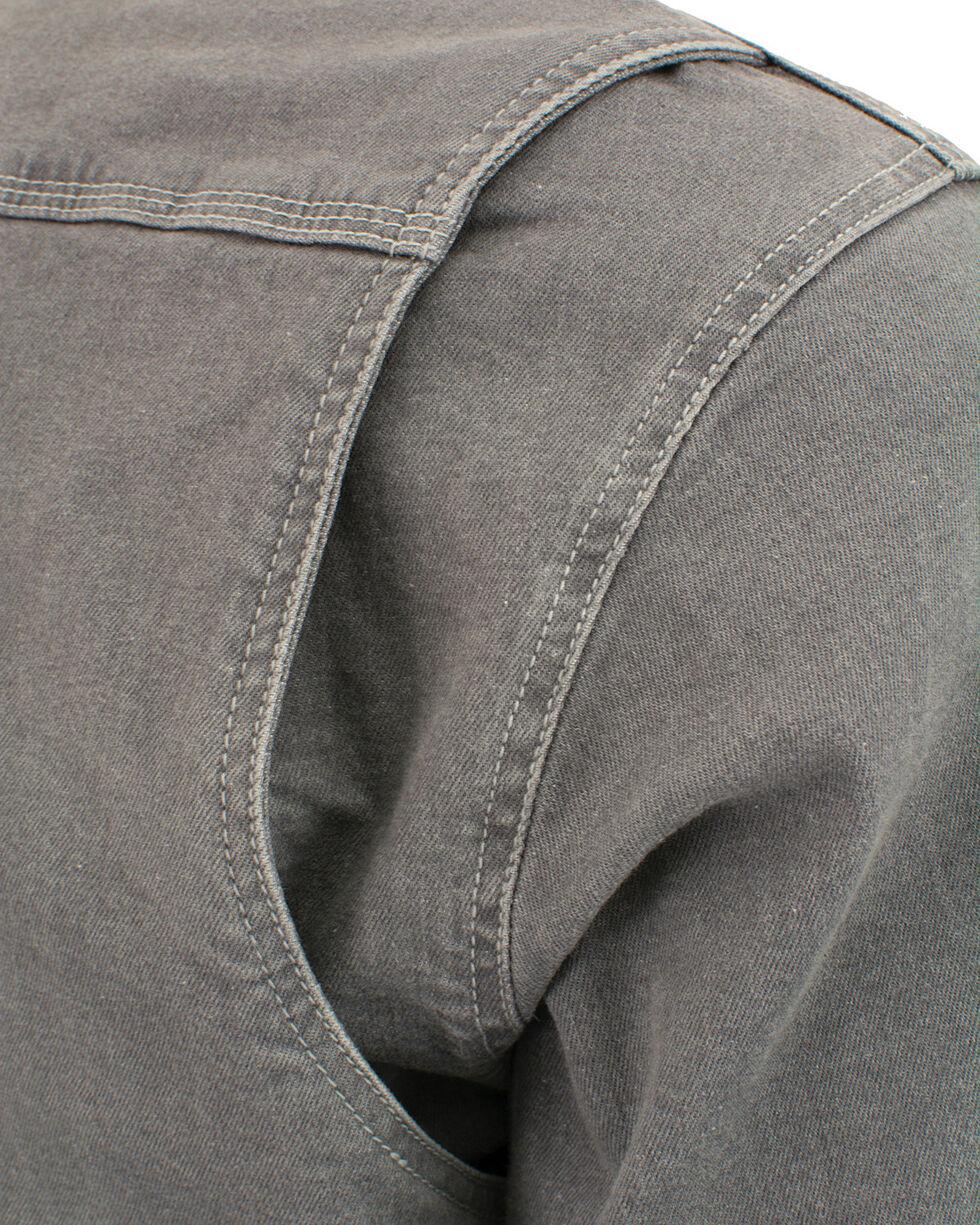 Milwaukee Performance Men's Aramid Reinforced Grey Denim Biker Shirt, Grey, hi-res