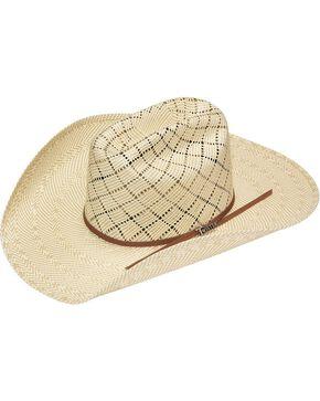 Twister 10X Shantung Americana Straw Cowboy Hat, Natural, hi-res