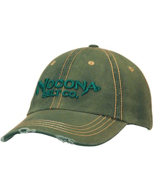 Nocona Distressed Wash Logo Cap, , hi-res