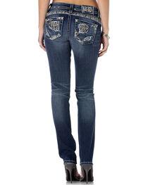 Miss Me Women's Deconstruction Straight Leg Jeans, , hi-res